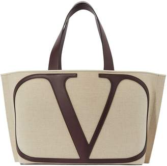 Valentino Go Logo shopping bag