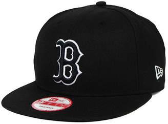 free shipping cb27e 5bb34 New Era Boston Red Sox B-Dub 9FIFTY Snapback Cap