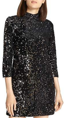 Sanctuary Keep Your Heads Up Sequin Dress