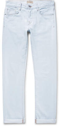 Burberry Stretch-Denim Jeans - Men - Light denim