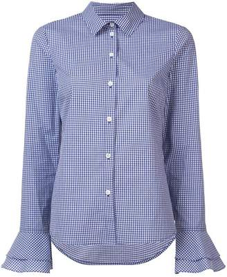 Derek Lam 10 Crosby Bell Sleeve Button-Down Shirt