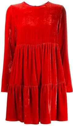 Semi-Couture Semicouture Candice velvet dress