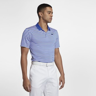 5671c0d6a Nike Men's Striped Golf Polo Dri-FIT Victory