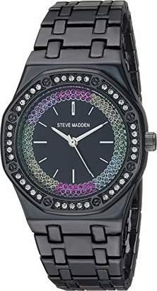 d01729ff41d Steve Madden Fashion Watch (Model  SMW177BK