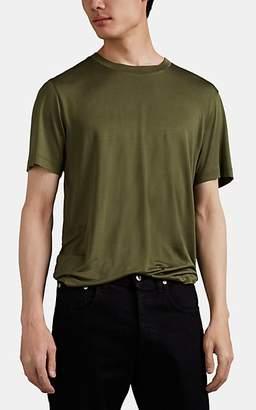 Helmut Lang Men's Silk Jersey T-Shirt - Olive