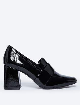 Marks and Spencer Flared Block Heel Loafers