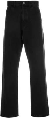 Raf Simons straight leg jeans