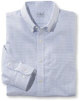L.L. Bean L.L.Bean Wrinkle-Free Check Shirt, Slightly Fitted