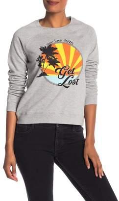 Rebecca Minkoff Get Lost Graphic Sweatshirt