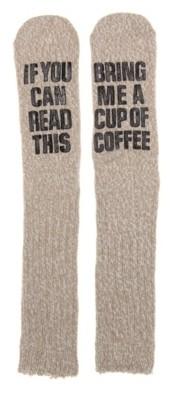 Mix No. 6 Bring Coffee Women's Slipper Socks