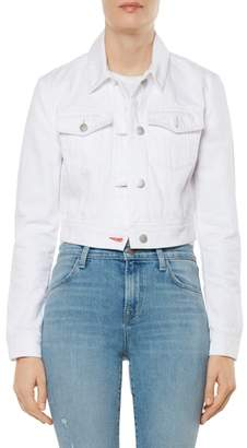 J Brand Faye Crop Denim Jacket