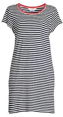 Splendid Women's X Gray Malin Seaside Stripe T-Shirt Dress