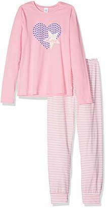 Sanetta Girl's Pyjama Long Set, (Size: 0)