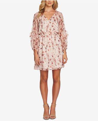 CeCe Ruffled Bohemian Dress