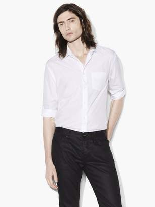 John Varvatos Slim Fit Rolled Sleeve Shirt