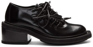 Simone Rocha Black Leather Brogues