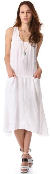 DKNY Pure Racer Back Dress