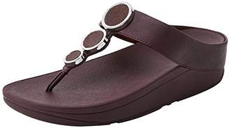 FitFlop Women's Halo Toe Thong Sandals Platform
