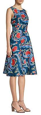 Escada Women's Dsiwana Floral A-Line Dress