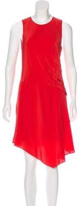 Elizabeth and James Silk Midi Dress