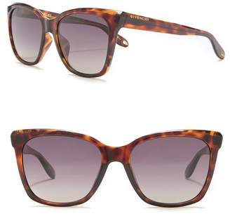 Givenchy 55mm Cat Eye Retro Sunglasses
