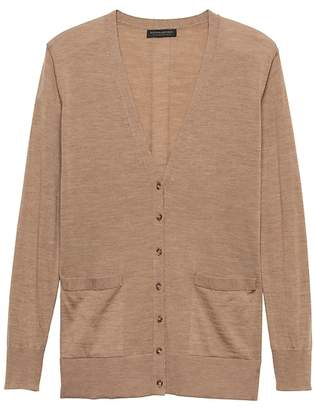 743bac053b Banana Republic Washable Merino Boyfriend Cardigan Sweater