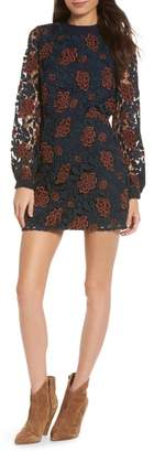 Ali & Jay Dazzling Lace Minidress