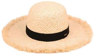303ee5ca7 Raw Edge Straw Hat - ShopStyle