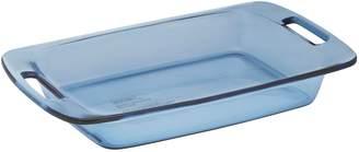 "Pyrex 9"" x 13"" Atlantic Blue Glass Casserole Dish"