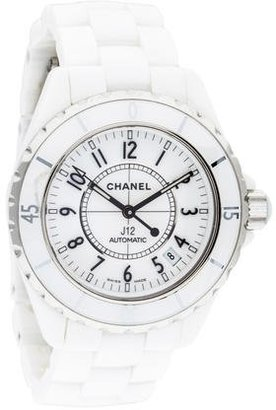 Chanel J12 Watch $2,195 thestylecure.com