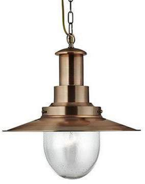 Copper ceiling light shopstyle uk at ff clothing search light fisherman pendant 1 light large pendant copper with seeded glass aloadofball Image collections