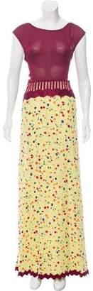 Geoffrey Beene Button-Up Contrast Dress w/ Tags