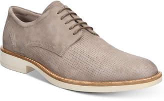 Ecco Men's Biarritz Derby Perforated Tie Oxfords Men's Shoes