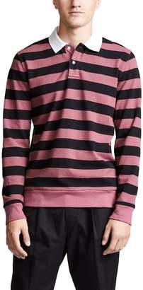 Saturdays NYC Sanders Stripe Long Sleeve Shirt