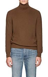 The Row Men's Daniel Rib-Knit Cashmere Sweater-Camel
