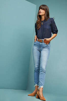 Paige Hoxton High-Rise Skinny Petite Jeans