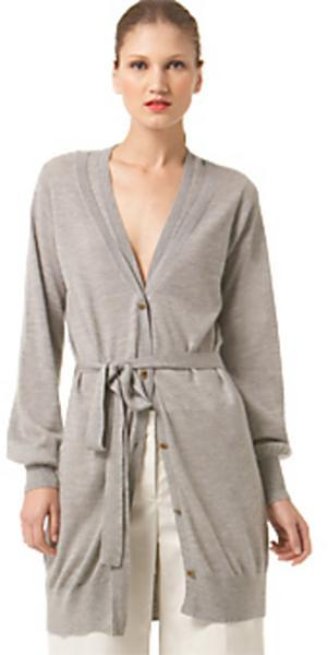Robert Rodriguez Long Silk and Cashmere Cardigan
