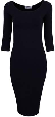 Toms Tom's Ware Womens Classic Slim Fit Bodycon Midi Dress TWCWD059-XS/S