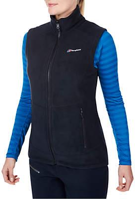 Berghaus Prism InterActive Women's Fleece Vest, Black