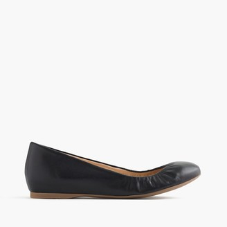 Cece Italian-made ballet flats in leather $128 thestylecure.com