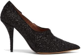 Tabitha Simmons Oona Lurex point-toe pumps