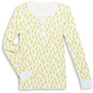 Roller Rabbit Baby's, Little Kid's & Kid's Chick Two-Piece Rudy the Duck Pajamas