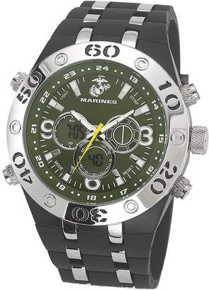 Green & Black Wrist Armor Men's U.S. Marine Corps C23 Green &Black Watch