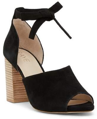 Raye Louise Open Toe d'Orsay Block Heel Sandal