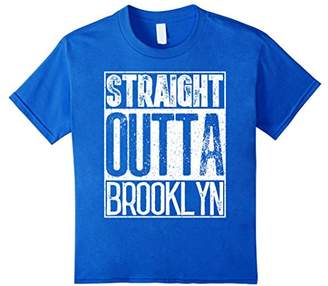Straight Outta Brooklyn T-Shirt Cool Mens or Women Gift Tee