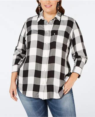 Levi's Plus Size Ryan Button-Back Shirt