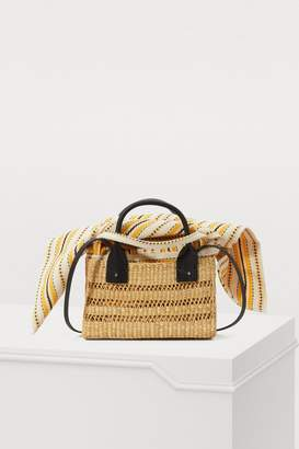 Muun Charlotte basket bag with pouch