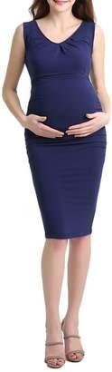 Kimi and Kai Niki Ruched Maternity Dress