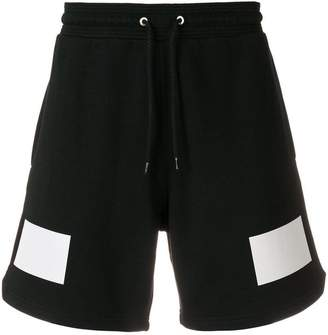 Givenchy contrast print shorts
