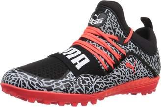Puma Men's 365.18 Ignite Texture ST Soccer Shoe, Black-red Blast White
